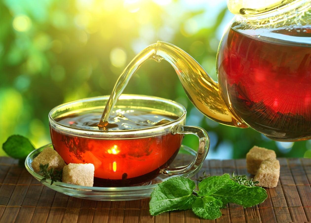 ceai de menta detoxifiere