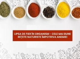 rețete naturiste împotriva anemiei