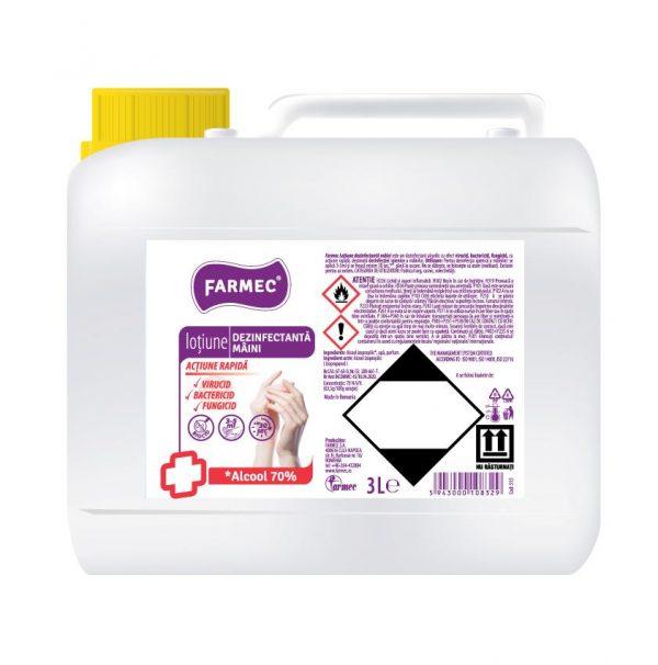 Dezinfectant mâini cu alcool 3 litri