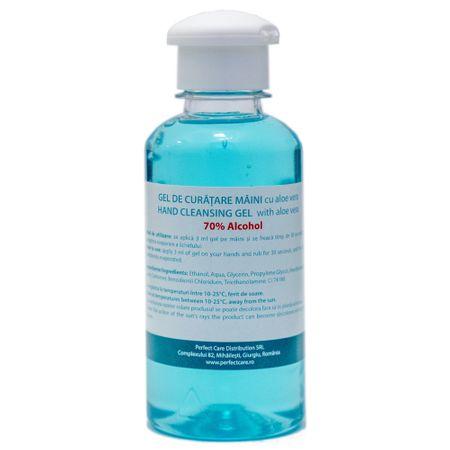 Gel dezinfectant pentru maini cu aloe vera