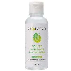 Soluție igienizantă pentru mâini cu 70% alcool, D-Panthenol și Glicerină