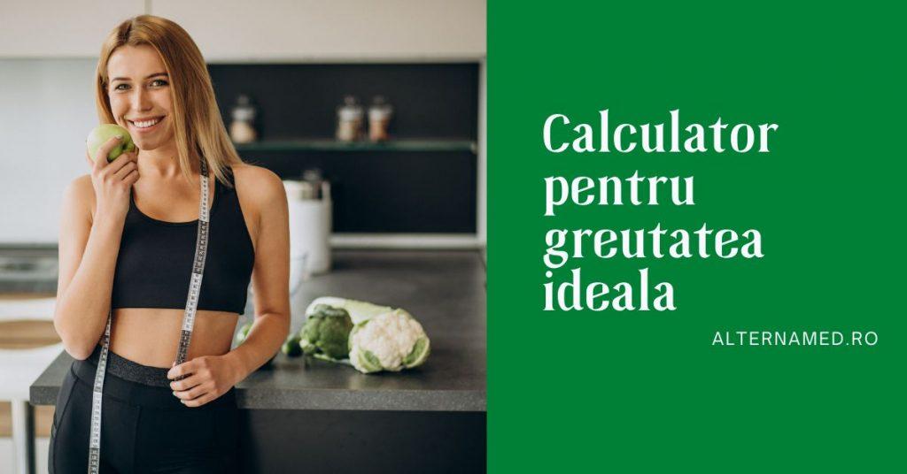 Calculator Pentru Greutatea Ideala in functie de varsta