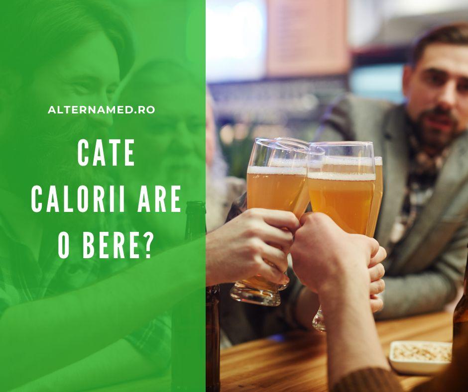 Cate calorii are o bere