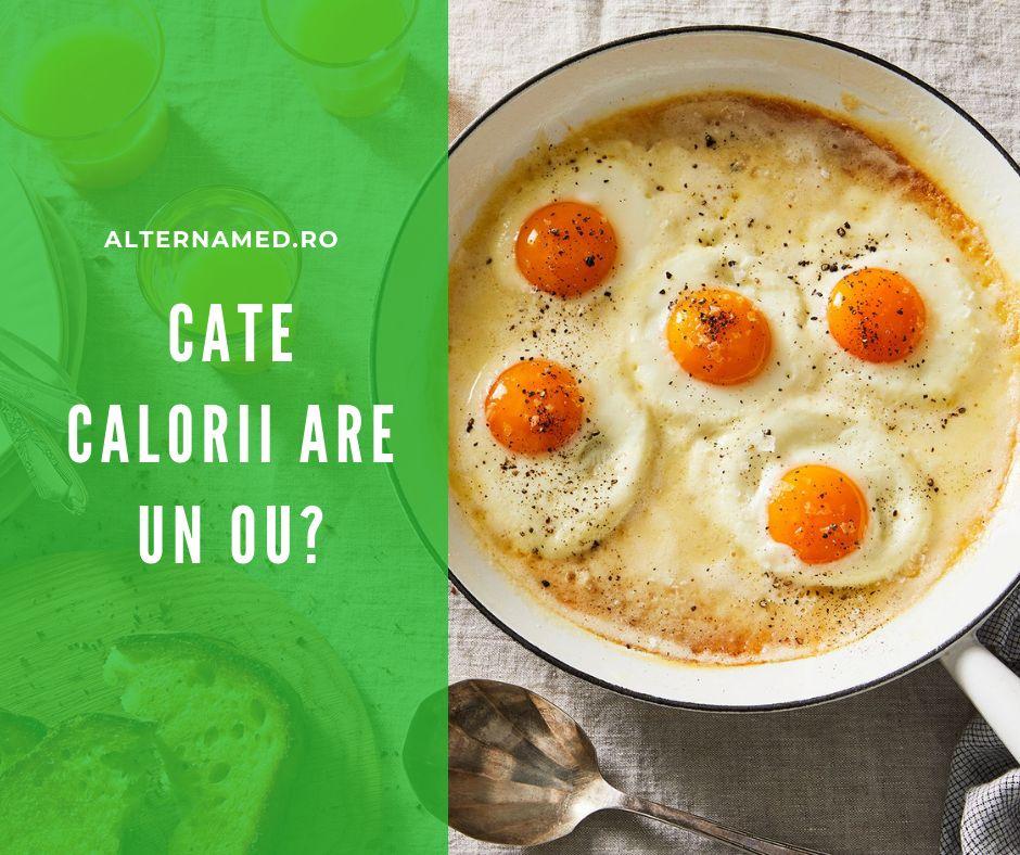 Cate calorii are un ou