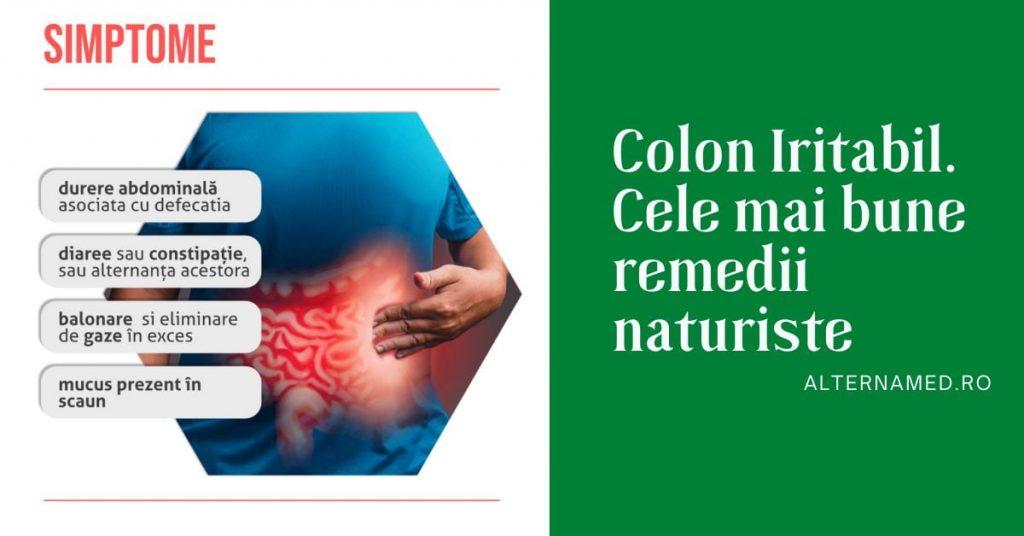 Colon Iritabil. Cele mai bune remedii naturiste