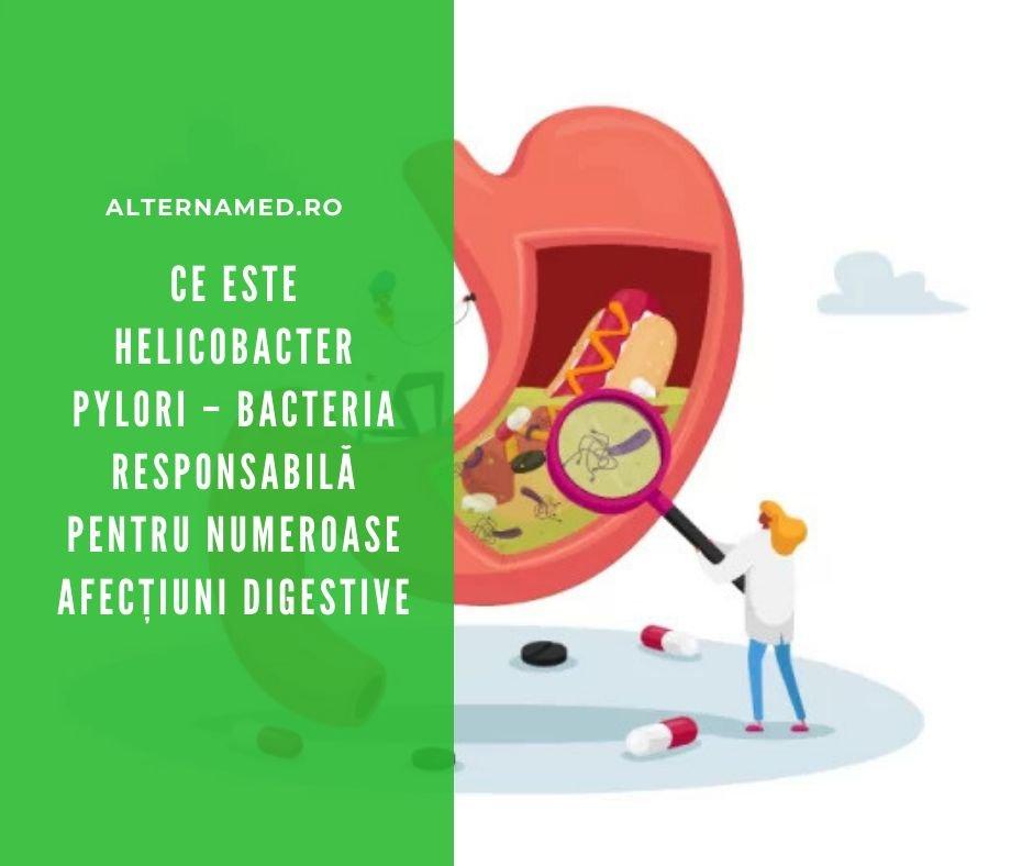 Helicobacter pylori tratament naturist