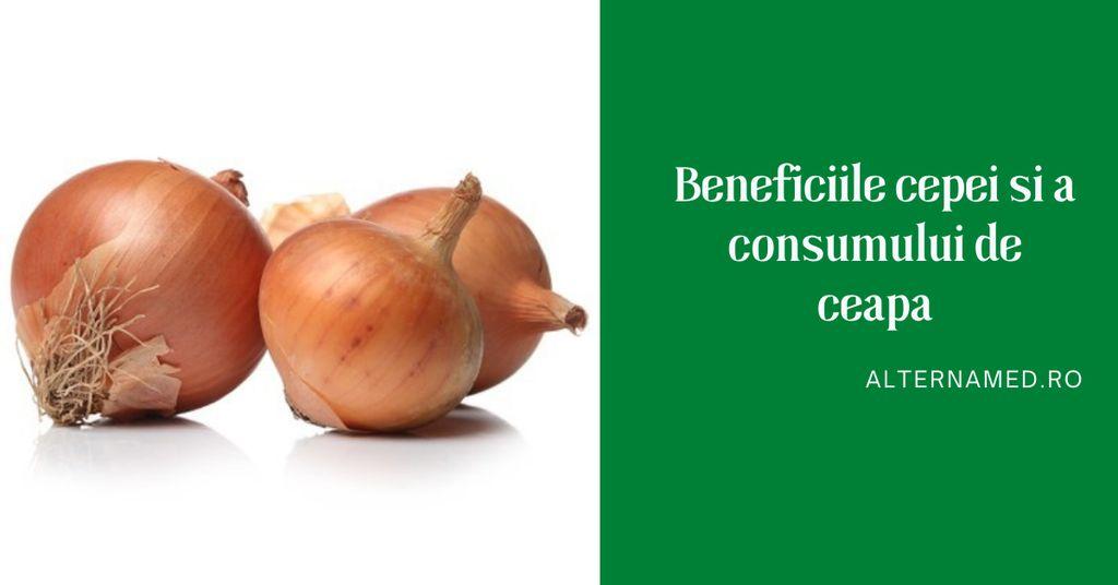 Beneficiile consumului de ceapă